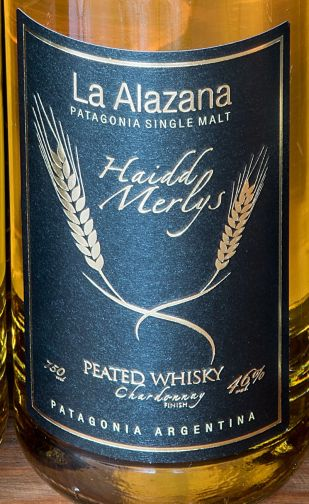 Alazana étiquette - Peated Chardonnay