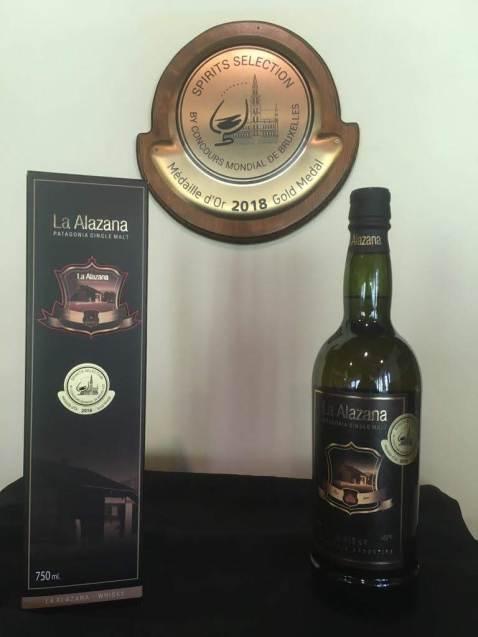 Clasico Medalla de Oro Spirits Selection 2018