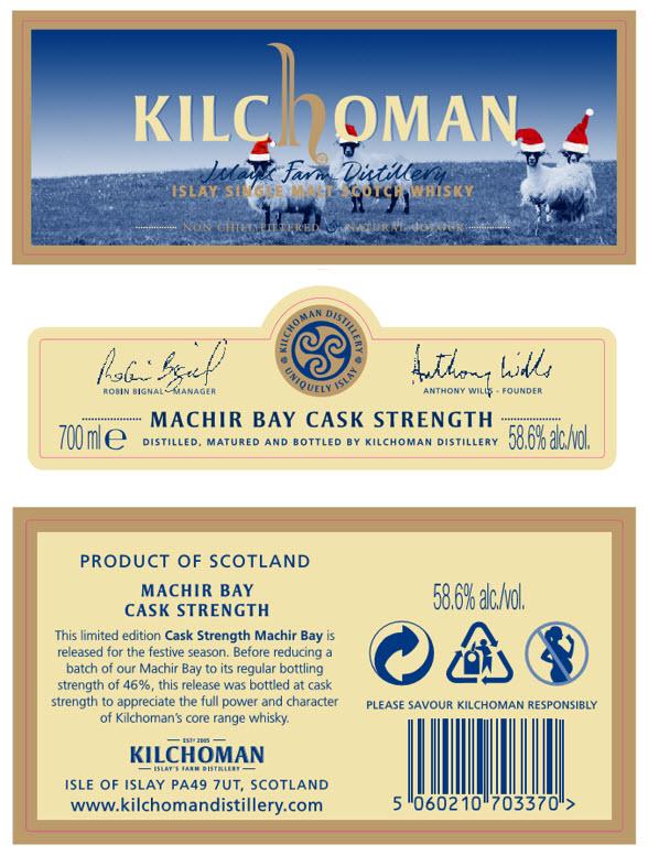 Machir Bay Xmas 2020 - étiquettes